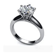 Classic Solitaire Rings